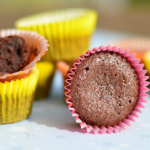 Mini format mais maxi-moelleux pour ces fondants au chocolat et beurre salé !