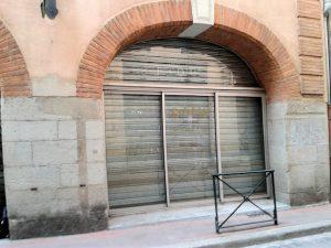 magasin fermé à Toulouse