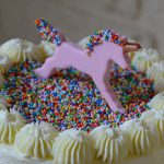 LE rainbow cake estampillé «vu à la télé» (sur TF1)