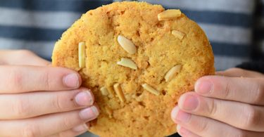 une idée de cookies qui change, avec de la halva