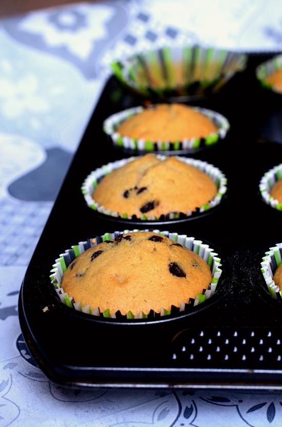 super recette de muffins sans beurre aux pépites de chocolat