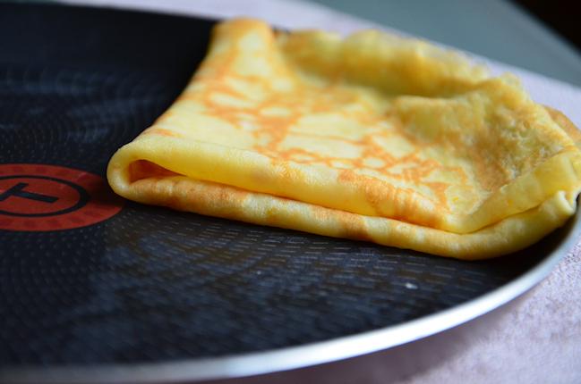 Une recette de crêpes à l'orange sans temps de repos de la pâte