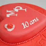 Des idées de gâteaux cœur pour dire Je t'aime