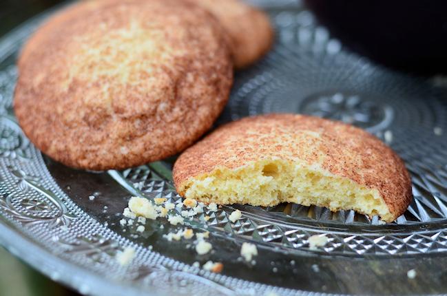 Des snickerdoodles, biscuits à la cannelle, à croquer avec un thé
