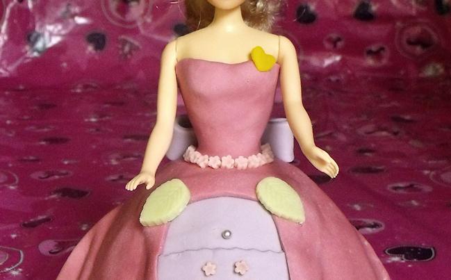 comment faire un gâteau princesse sans le moule