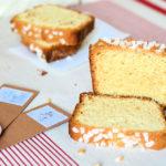 Cake aux amandes et à la fleur d'oranger, pour se détendre au goûter