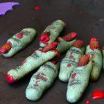 Biscuits Doigts de Monstres pour Halloween (sans repos de la pâte)
