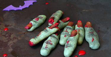 Pour Hallowee,, cette recette de biscuits doigts sans temps de pose est super