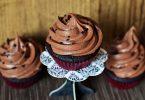 Une recette de glacage au cream ch pour cupcake au chocolat