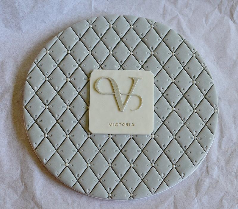 Logo de marque comestible Victoria Bijoux