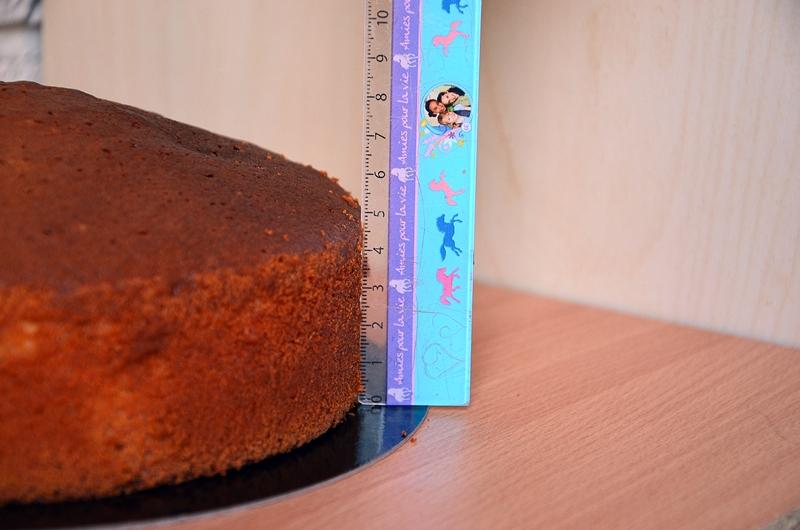 le gateau au yaourt est adapté au cake design