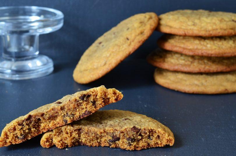 Gros cookies au café et pain d'épices