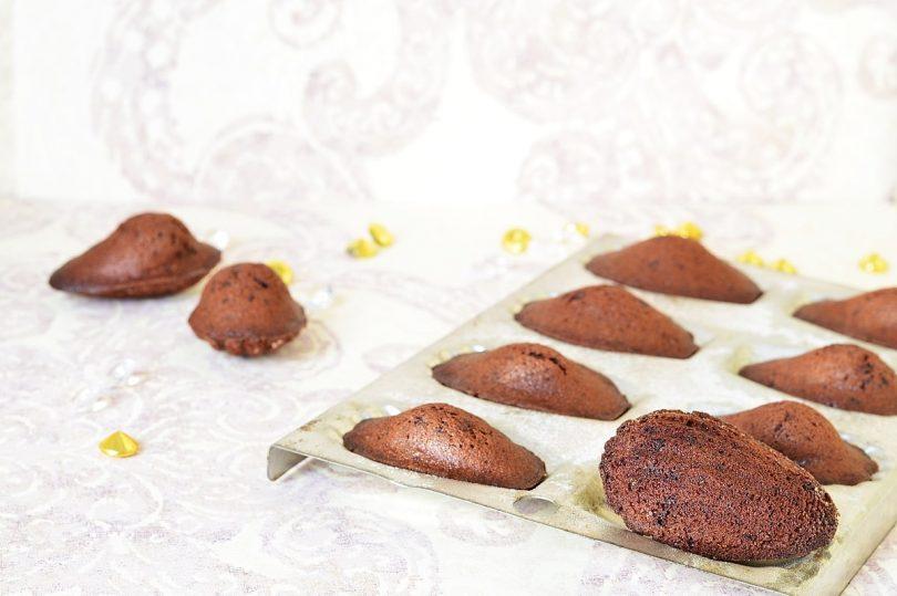 Recette de madeleines au chocolat et miel d'après Christophe Felder