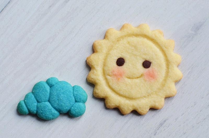 Biscuits thème ciel de printemps