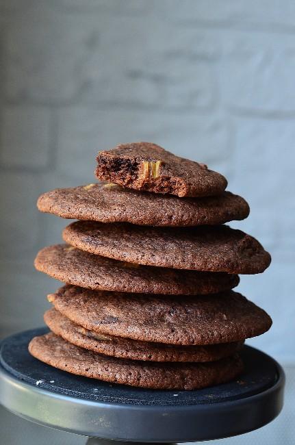 Une recette à la rhubarbe originale : les cookies rhubarbe chocolat