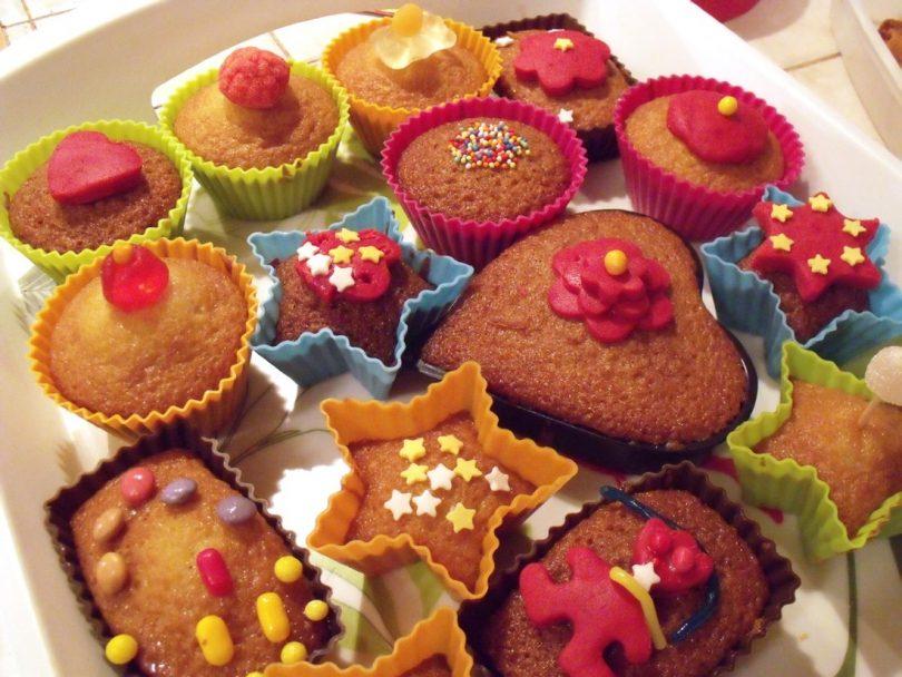 muffins au gâteau au yaourt