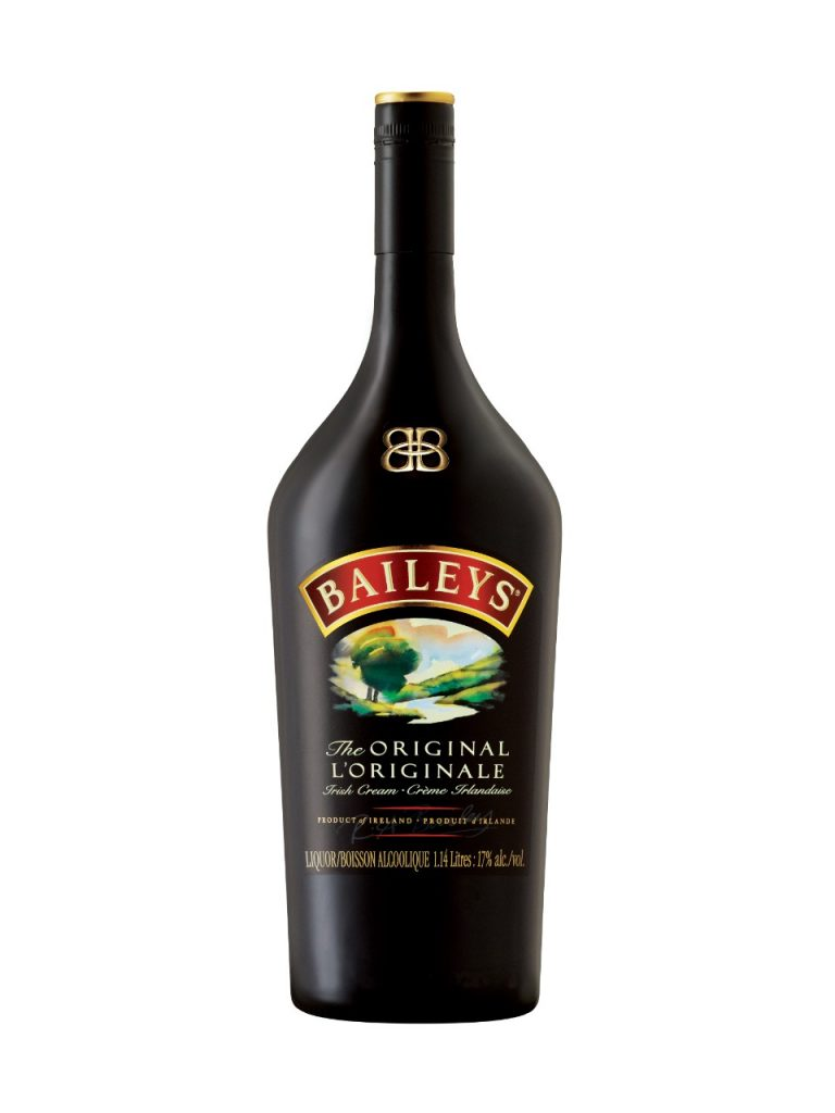 Bouteille de Baileys, liqueur à base de whisky et de crème