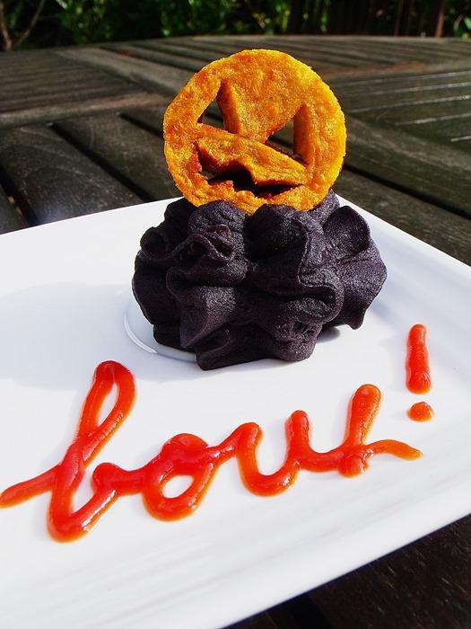 idée de légumes pour halloween salé