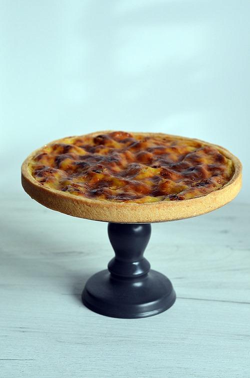 Une tarte aux dattes comme un far breton