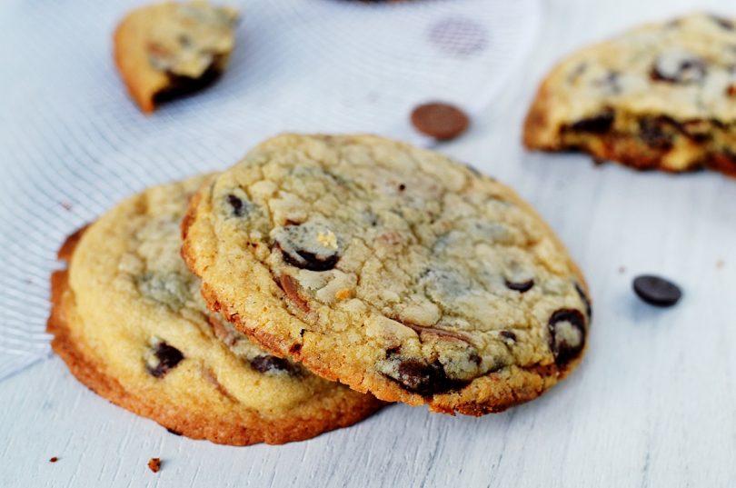 cookies super moelleux au whisky et 2 chocolats