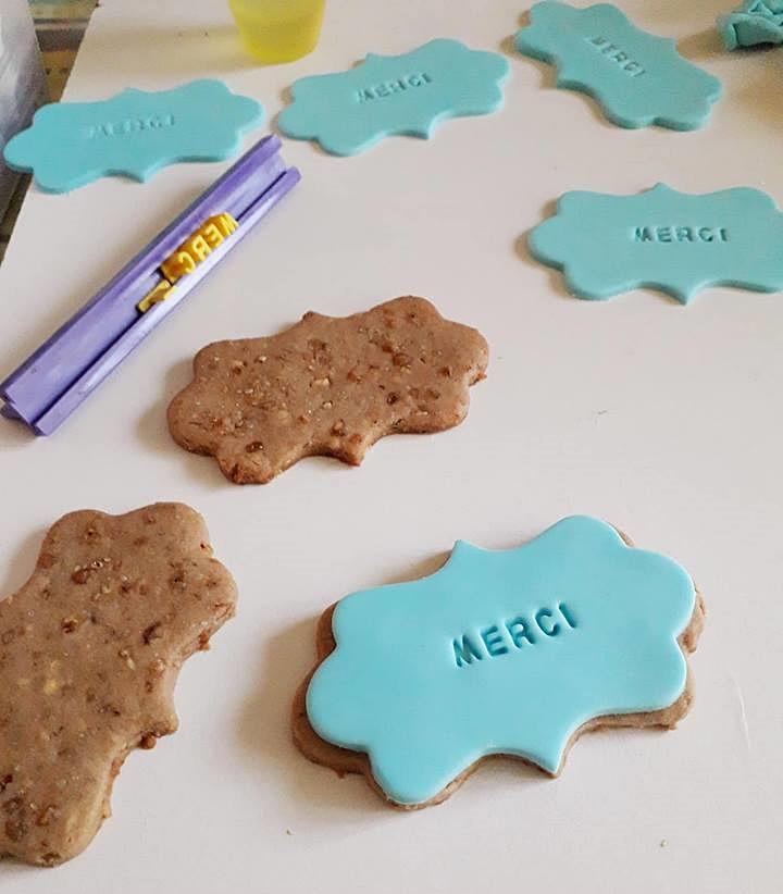 Idée facile de biscuits pour dire merci