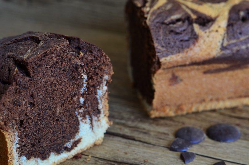recette de cake marbré moelleux