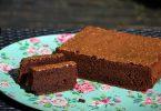 gateau au chocolat sans farine de blé