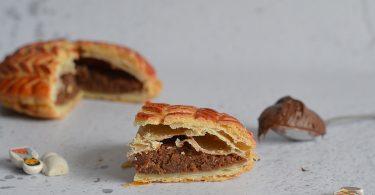 part de galette des rois - recette sans frangipane