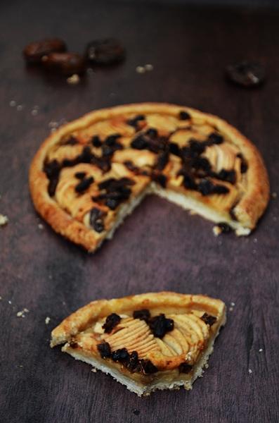 recette de tarte sans moule aux pommes
