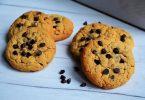 cookies au beurre de cacahuetes et pepites de chocolat